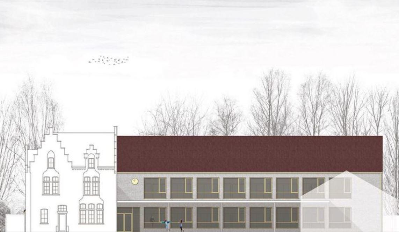 Ouders in de bres voor hedendaagse schoolgebouwen in vinderhoute
